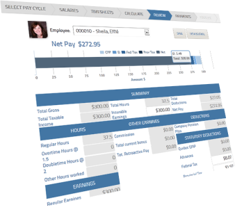 Enhanced payroll process