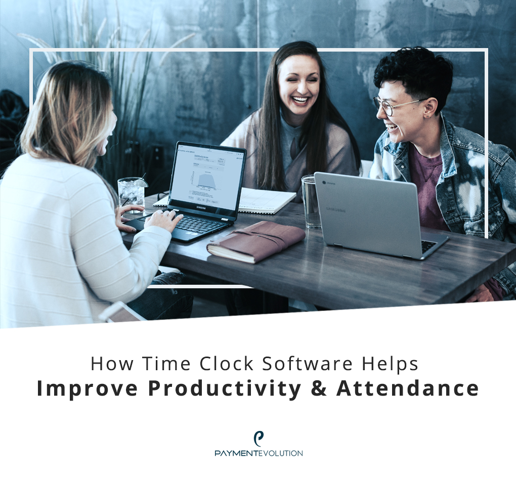 How time clock software helps improve productivity and attendance